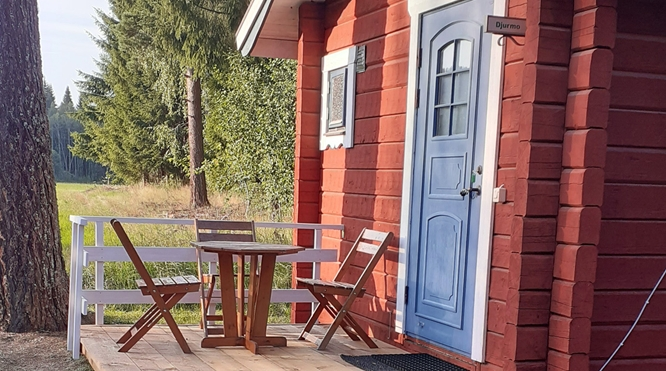 Cottage for 2 persons Djurmo